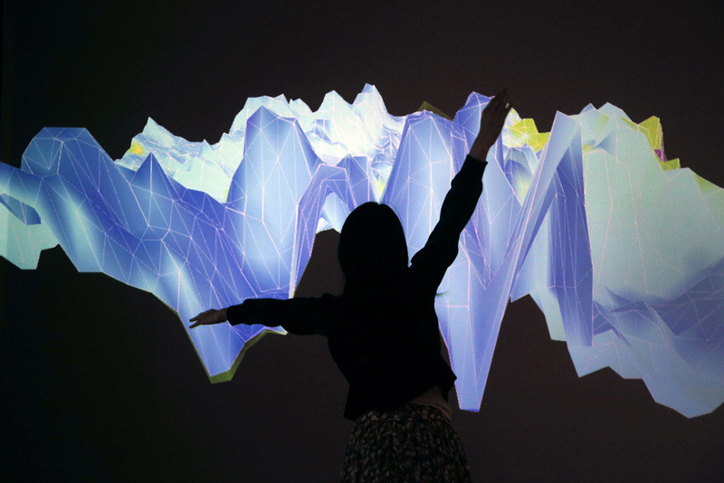 Interactive Installation by Gabriella Levine