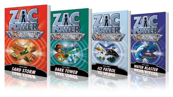 Zac Power: Extreme Mission novel series.