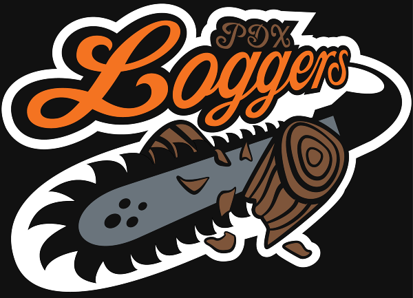 Two Logo Portland Loggers - joe...